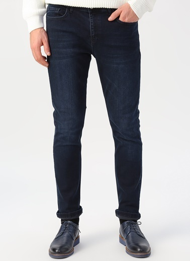 Cotton Bar Jean Pantolon Lacivert